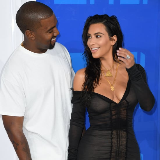 Kim Kardashian New Diamond Ring at MTV Video Music Awards
