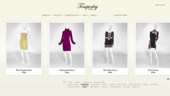 Temperley London Launch New Website, Shop Online