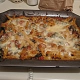 Spicy Baked Penne With Sausage and Chard
