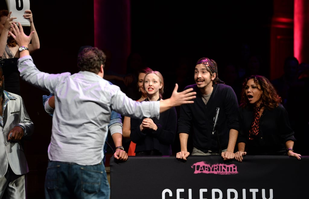 They play games like celebrity charades for charity.