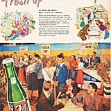 The perfect collegiate beverage is . . . 7-Up?