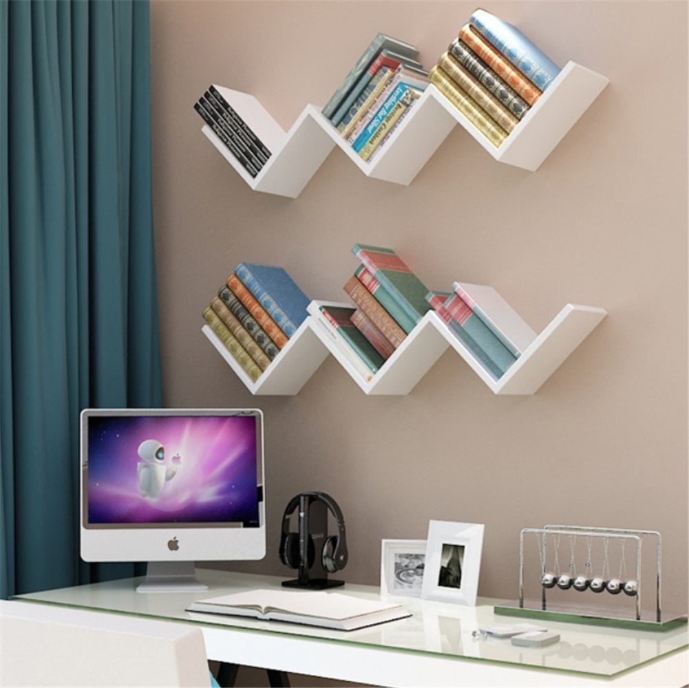 Eecoo Creative Floating Wall Shelf