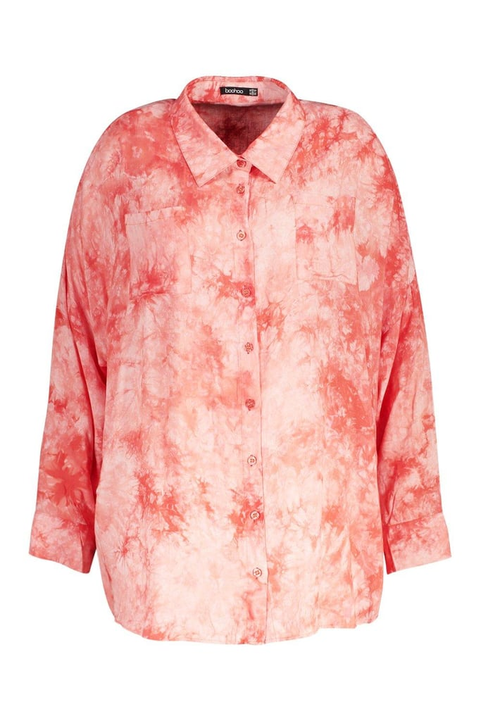 Boohoo Tie Dye Shirt