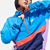Nike Colorblock Hooded Half-Zip Sweatshirt
