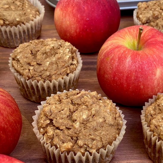 Sugar-Free Vegan Apple Cinnamon Oatmeal Muffins Recipe