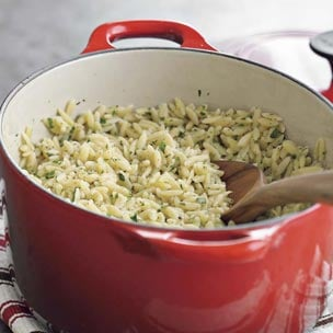 Modern Side: Orzo With Lemon and Parsley