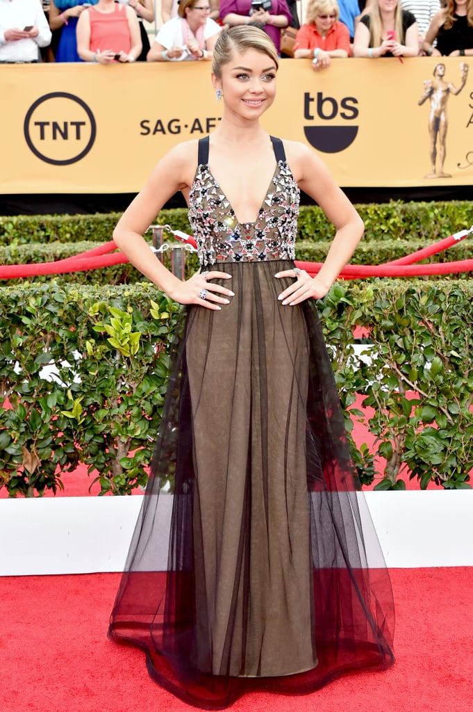 the fashion choices at the sag awards deserve their own award