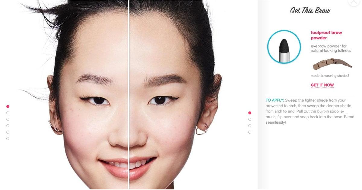 Benefit Brow Try On App Popsugar Beauty