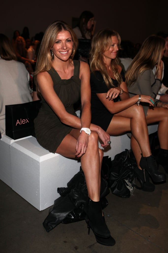 Laura Csortan at Alex Perry in 2011.