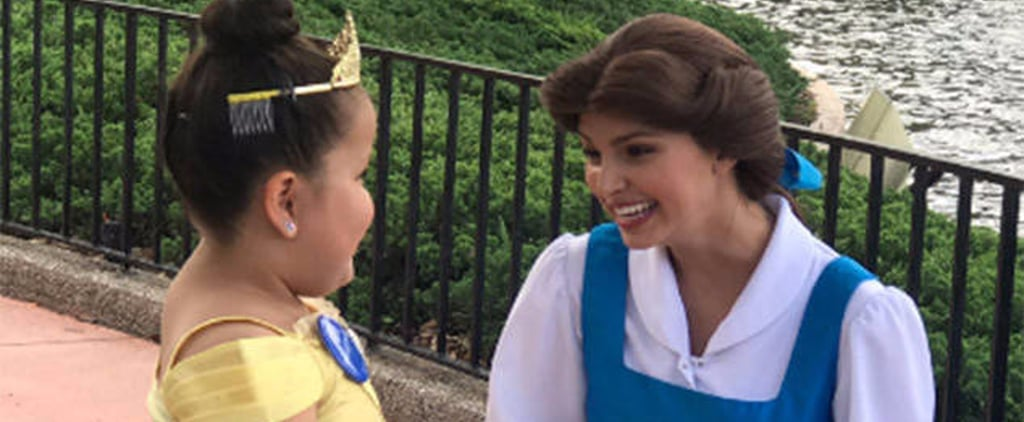 How Belle Proved to This Girl That She Isn't Just a Princess — She's Also a Superhero