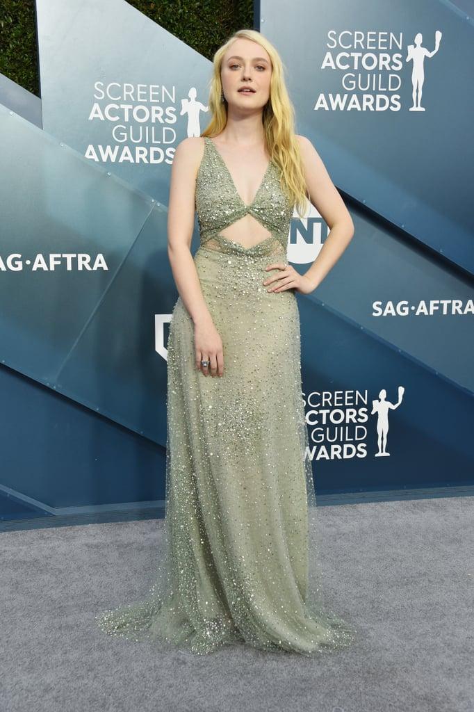 Dakota Fanning at the 2020 SAG Awards