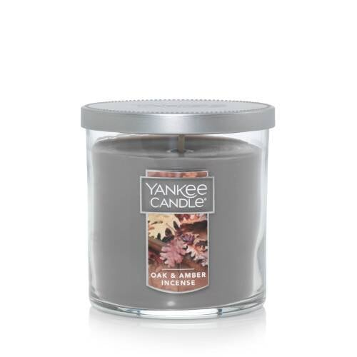 Oak and Amber Incense Small Tumbler Candle