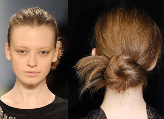 BCBG Fashion Week Hair Messy Bun Tutorial