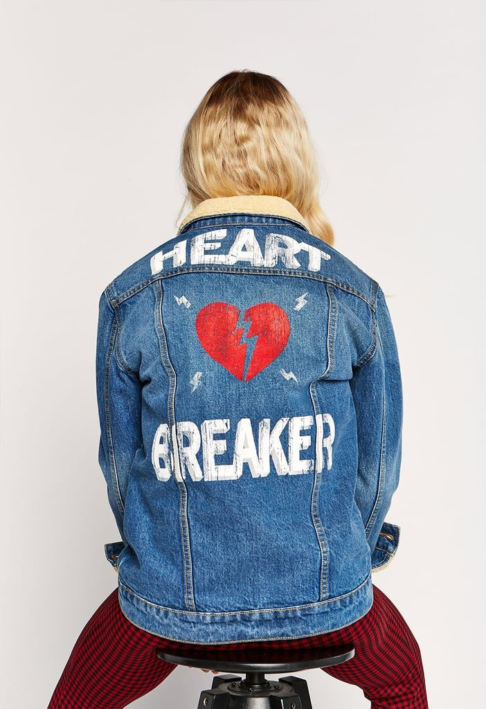 Daydreamer Heartbreaker Oversized Denim Jacket
