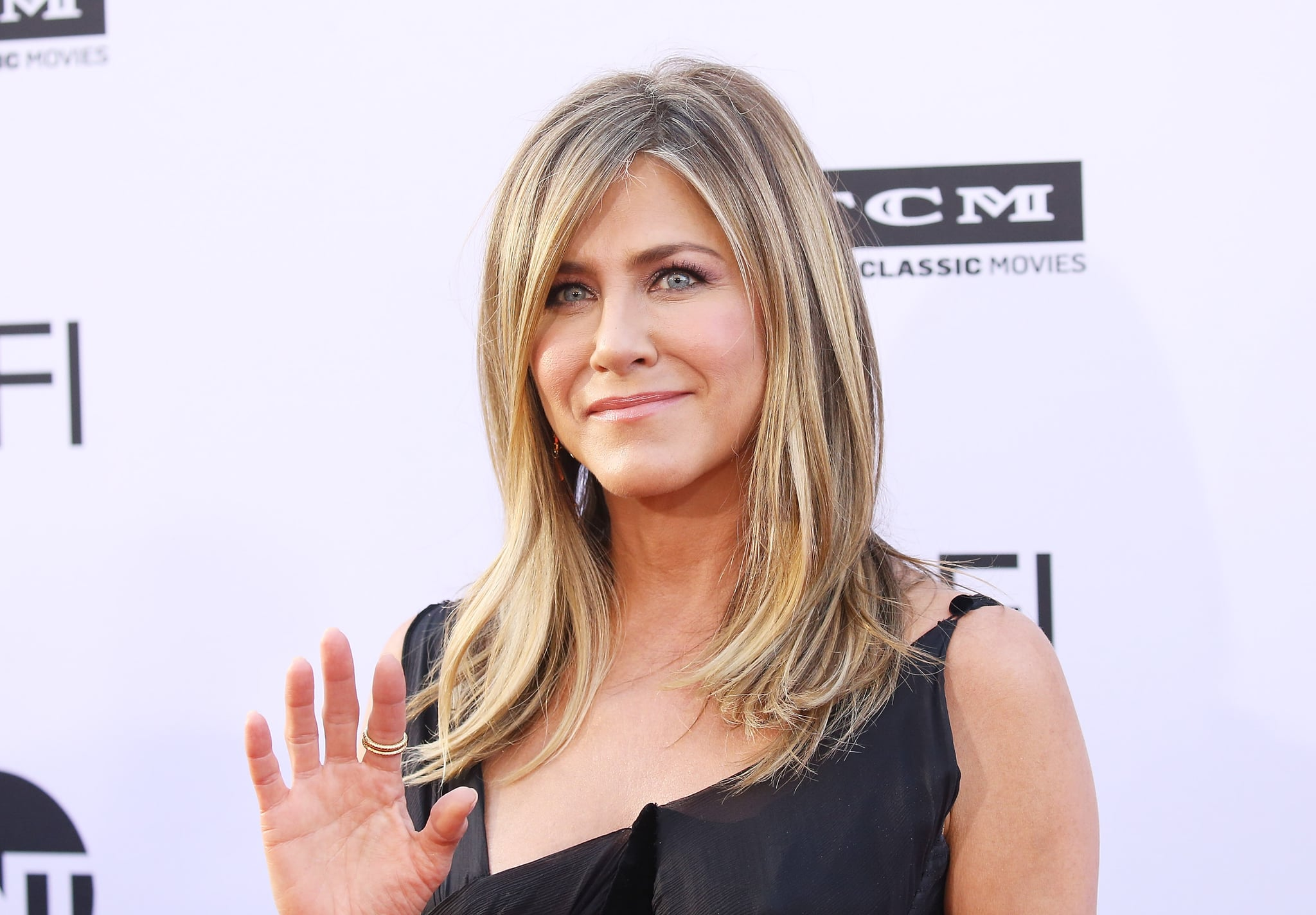 HOLLYWOOD, CA - JUNE 07:  Jennifer Aniston arrives to the American Film Institute's 46th Life Achievement Award Gala Tribute held on June 7, 2018 in Hollywood, California.  (Photo by Michael Tran/FilmMagic)