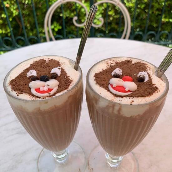 Disneyland Paris Chip 'n' Dale Milkshake