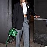 Gigi Hadid Leaving the Marc Jacobs Show