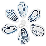 Vinter 2019 White and Blue Gift Tags