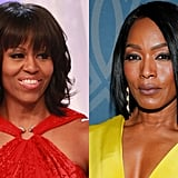 Angela Bassett as Michelle Obama