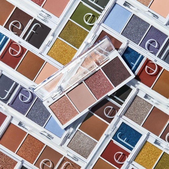 e.l.f. Cosmetics Bite Sized Eyeshadow Mini Palettes Try On