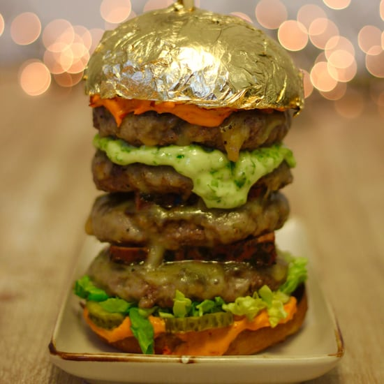 Try the Gold Burg Khalifa Burger at Eat the World DXB 2017