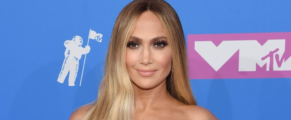 Jennifer Lopez's VMAs Hair and Makeup