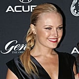 The Malin Akerman Braid-Ponytail Combination