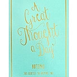 Eccolo World Traveler Thought a Day Notepad