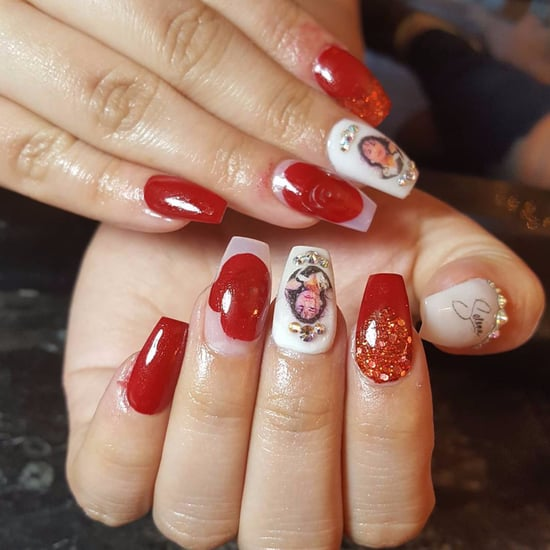 Selena Nail Art Ideas