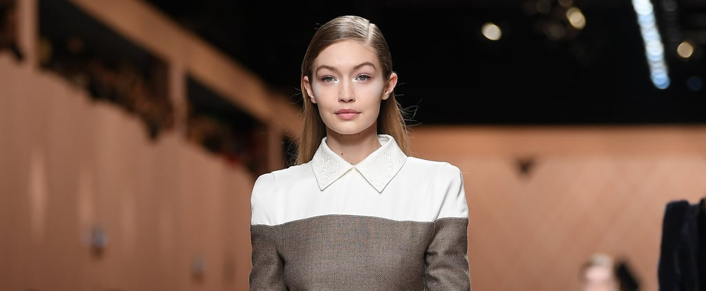 Gigi Hadid Popped Up at Milan Fashion Week, on the Fendi Runway No Less
