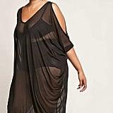 Forever 21 Mesh Maxi Dress