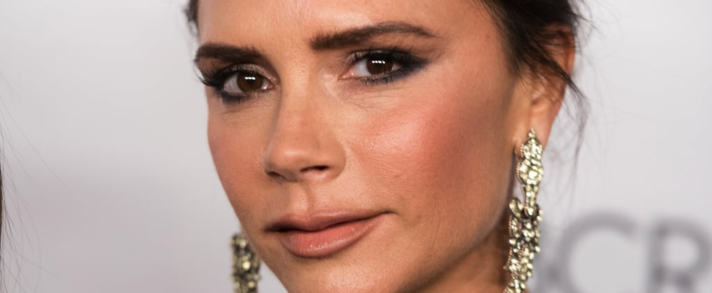 How Victoria Beckham Grew Out Her Eyebrows