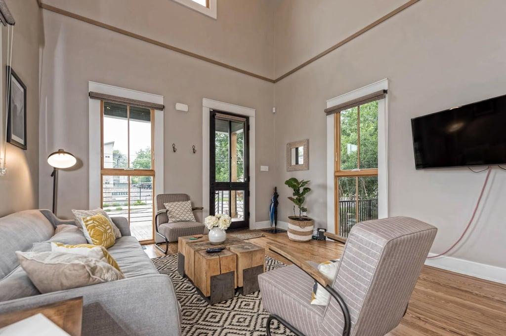 shotgun house interior.  Fixer Upper Shotgun House Is For Sale POPSUGAR Home