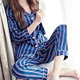 Abetteric Retro Pajama Lounge Set
