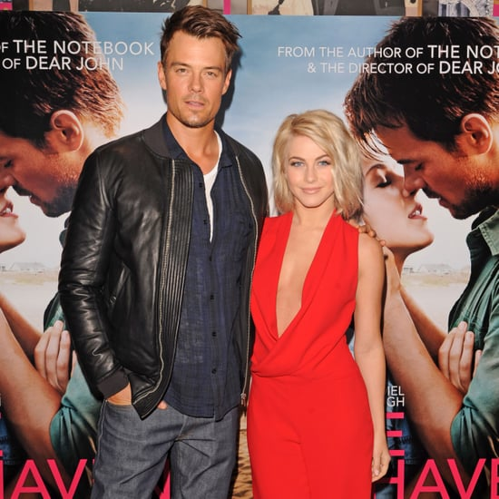 Josh Duhamel and Julianne Hough Promote Safe Haven in London