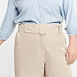 Violeta by Mango Plus Size Belt Line Short