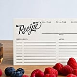 Recipes and Ingredients