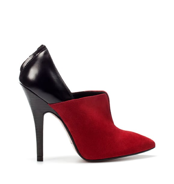 These dual-toned booties gives off an ultraluxe vibe — without the hefty price tag.