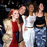 The Spice Girls were among the stars at the October 1996 National TV Awards in London.