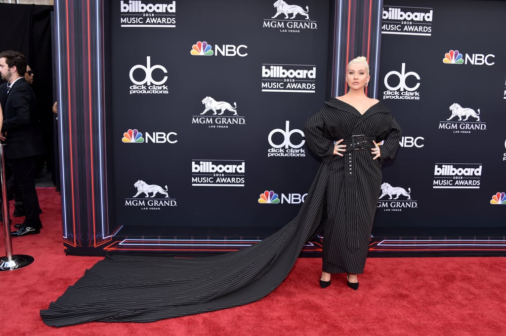 Christina Aguilera at the Billboard Music Awards 2018