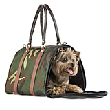 Petote JL Duffel Dog Carrier Camo Stripe