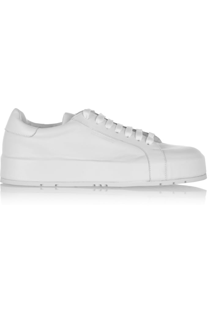 Jil Sander White Special Mid Sneakers iCYbzuQ