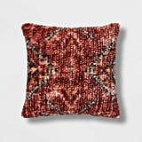 Wool/Viscose Vintage Square Pillow