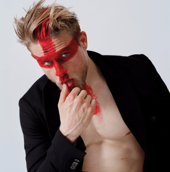 Charlie Hunnam in V Magazine September 2015 Pictures