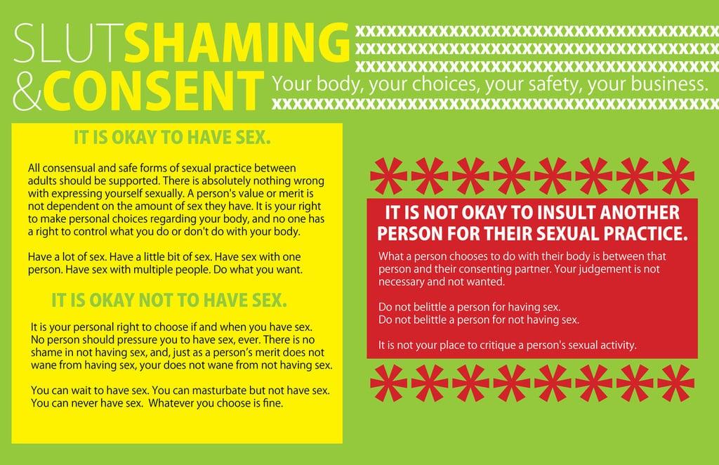 Slut Shaming and Consent