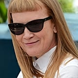 Andrea Arnold sported some shades for the jury photocall at the Cannes Film Festival.