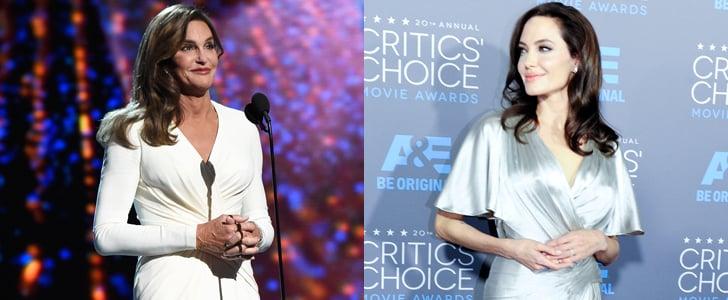 Caitlyn Jenner Dressing Like Angelina Jolie