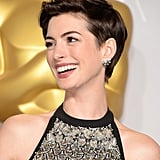 Anne Hathaway's Pixie Style