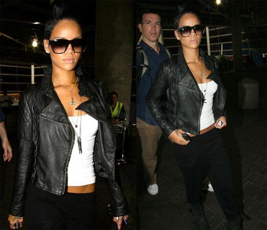 Photos of Rihanna at LAX