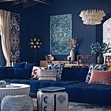 Harry Potter-Inspired Glam Bohemian-Style Living Room